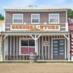 Frontier Town Western Theme Park Berlin MD outside Ocean City MD General Store