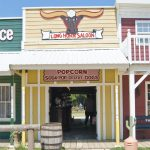 Frontier Town Western Theme Park Berlin MD outside Ocean City MD Longhorn Saloon