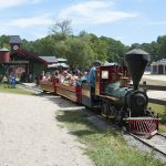 Frontier Town Western Theme Park Berlin MD outside Ocean City MD Steam Train